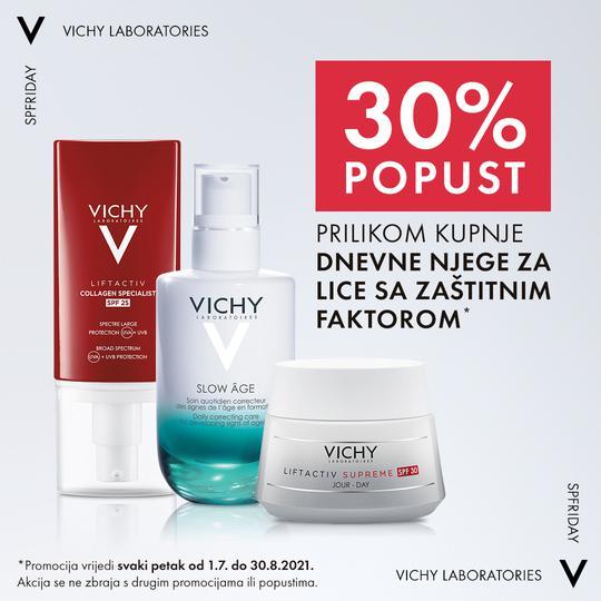 Vichy njega lica sa SPF zaštitom 30%
