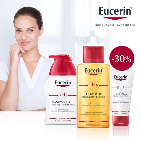 Eucerin PH5 proizvodi 30%!