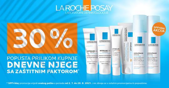 La Roche Posay njega lica sa SPF zaštitom 30%