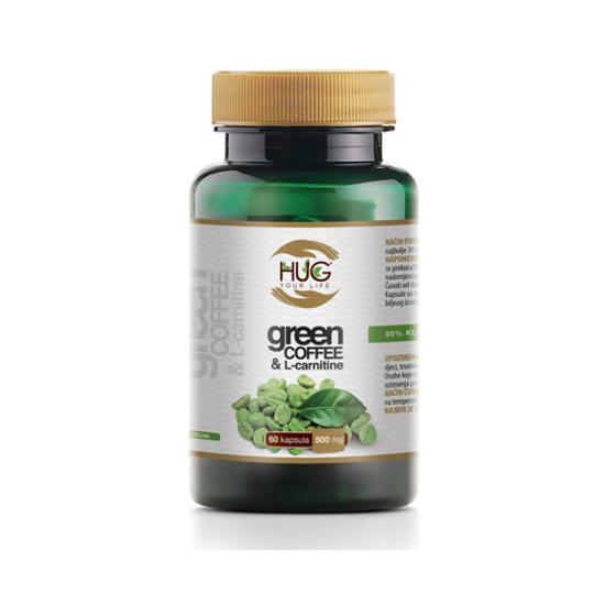 HUG Zelena kava & L-karnitin kapsule