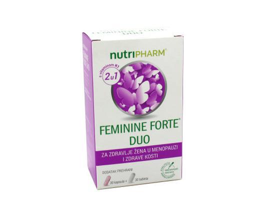 Nutripharm Feminine forte DUO  30 tableta+30 kapsula