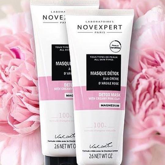 NovExpert detox maska sa crvenom glinom 75 ml