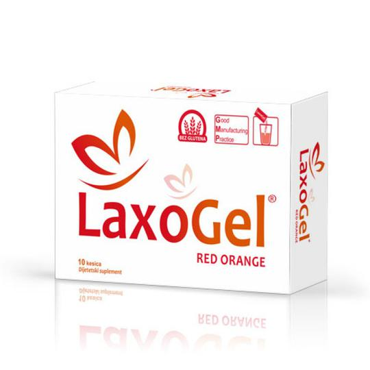 Laxogel crvena naranča vrećice 10x5 gr