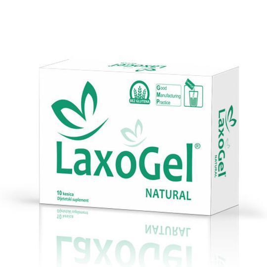 Laxogel natural vrećice 10x5 gr