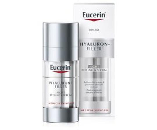 Eucerin piling i serum hyal filler noćni 2x15 ml