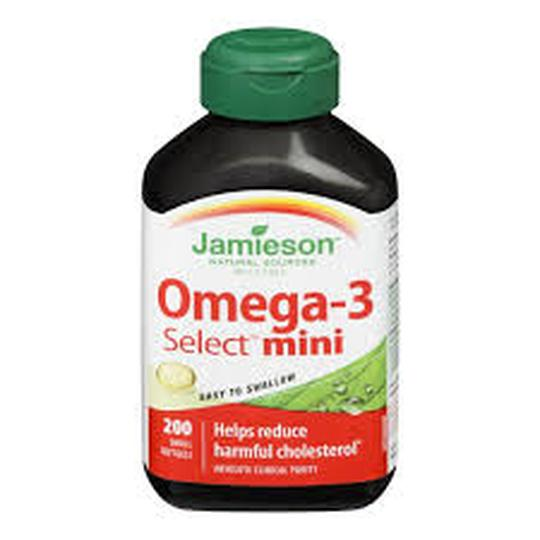Jamieson omega 3 select mini  200 tableta