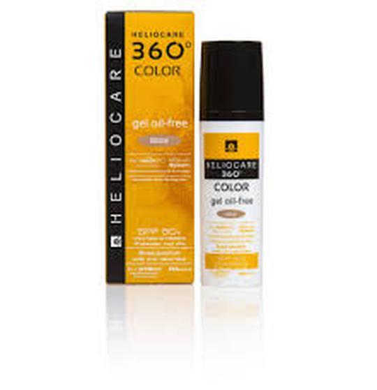 Heliocare 360 oil-free gel SPF50  BEIGE  50 ml