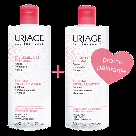 Uriage micelarna voda sensitive 500 ml DUO
