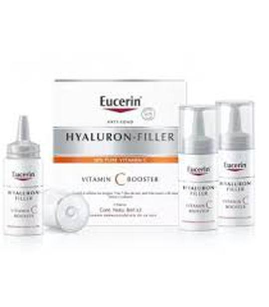 Eucerin Hyaluron filler vitamin C booster 3x8 ml