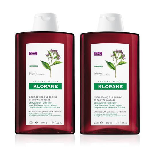 Klorane kinin šampon 400 ml DUO