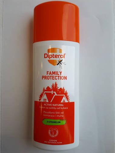 Dipterol active natural sprej 100 ml