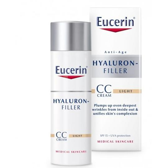Eucerin Hyaluron filler CC krema SPF15 LIGHT   50 ml