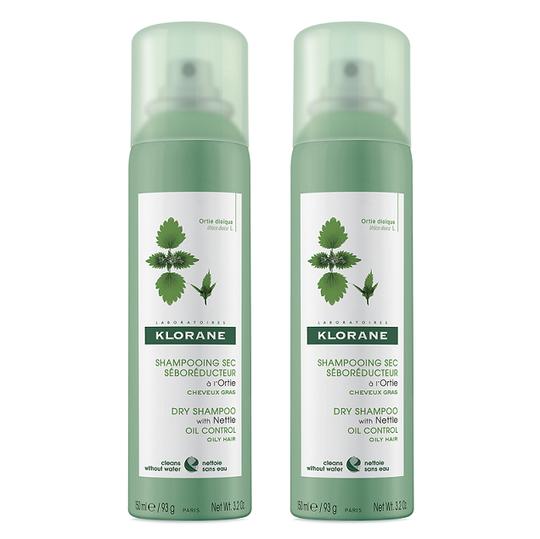 Klorane organska kopriva šampon za suho pranje 150 ml DUO