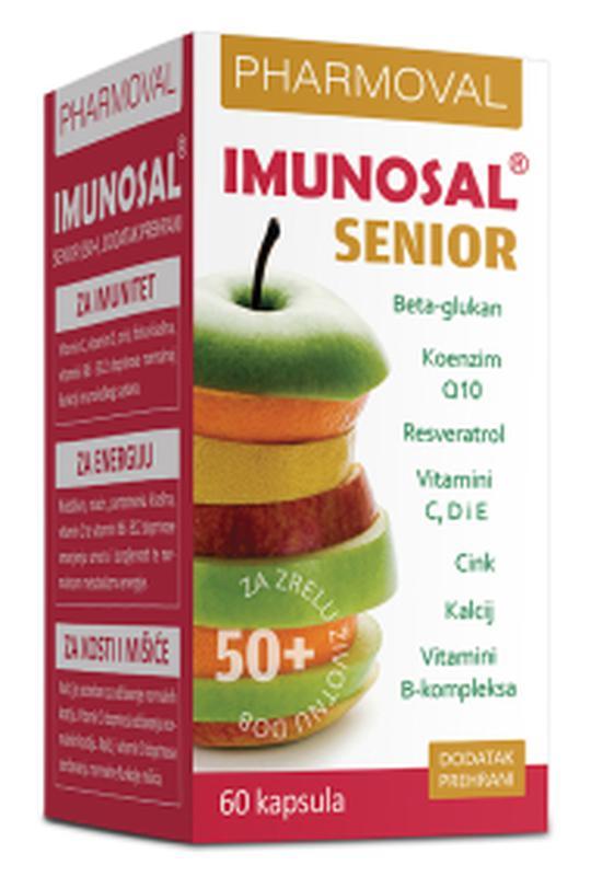 Imunosal senior 60 kapsula