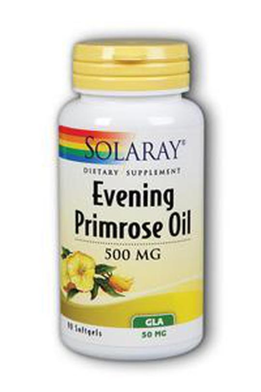 Solaray Evening Primrose oil 500 mg (ulje noćurka), 90 kapsula