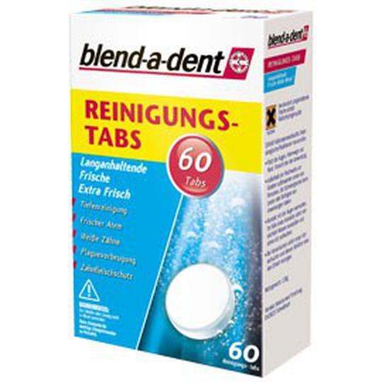 Blend-A-Dent extra frish tablete za čišćenje zubne proteze, 60 tableta