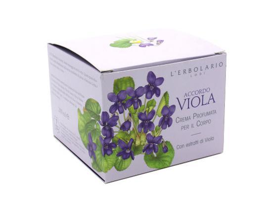 Lerbolario viola(ljubičica) krema za tijelo 200 ml