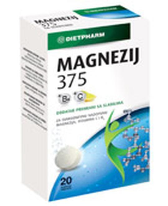 Magnezij 375 šumeće tablete