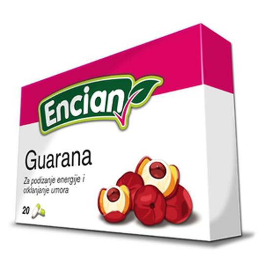 Guarana kapsule, 20 komada