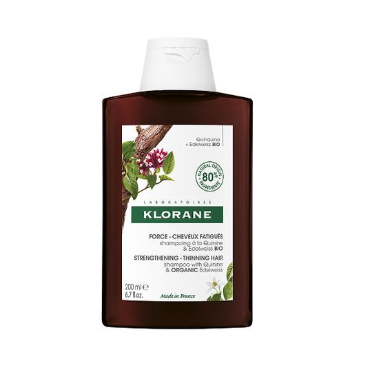 Klorane kinini organski runolist šampon 200ml