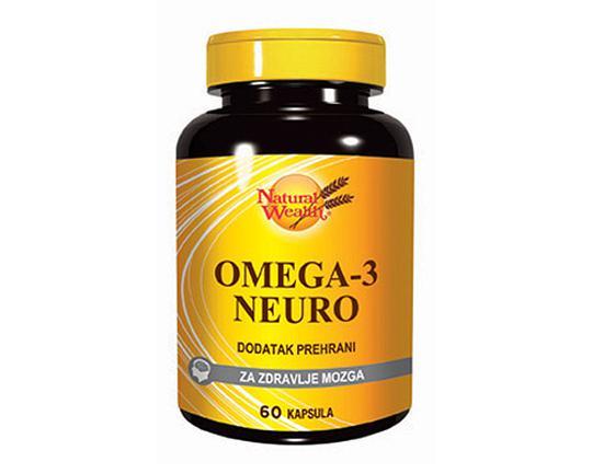 Natural Wealth Omega 3 neuro 1000 mg  60 kapsula