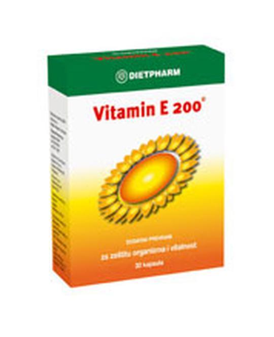 Vitamin E-200, 30 kapusla po 200mg