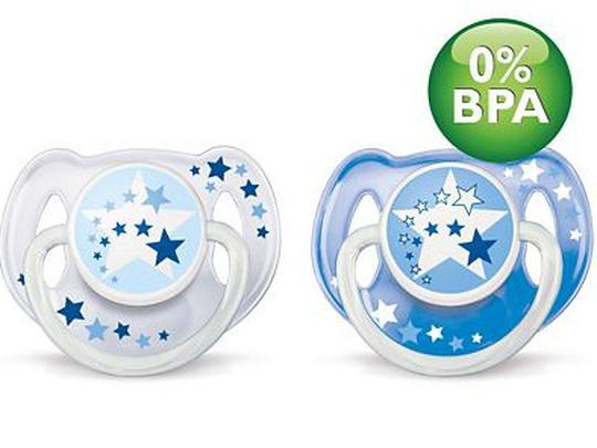 Avent duda varalica BPA free 6-18 mj. Noćna 2 kom.