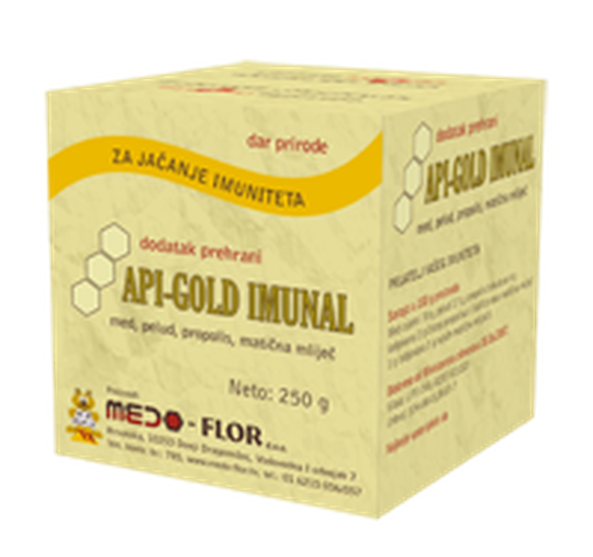 Api-Gold Imunal med 250 g