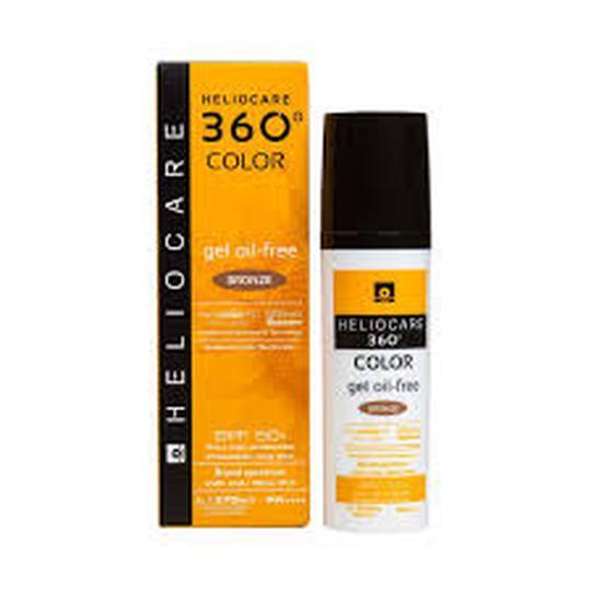 Heliocare 360 oil-free gel SPF50 BRONZE 50 ml