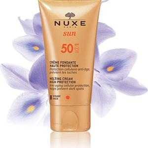 Nuxe SUN topiva krema za lice SPF50   50 ml