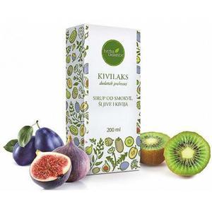 Kivilaks - sirup od smokve i šljive s dodatko liofiliziranog kivija 200ml