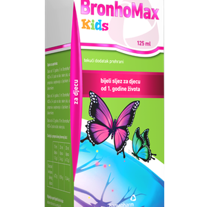 BronhoMax Kids tekući dodatak prehrani, 125 ml