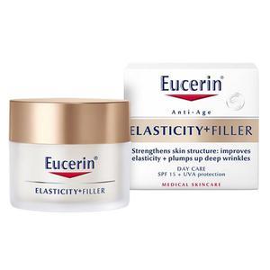 Eucerin Elasticity+filler dnevna krema SPF15  50 ml