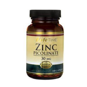 Life time zinc picolinate 30 mg   100 kapsula
