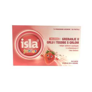 Isla junior pastile jagoda  á 20
