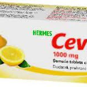 Hermes cevitt 1000 mg limun 10 šumećih tableta