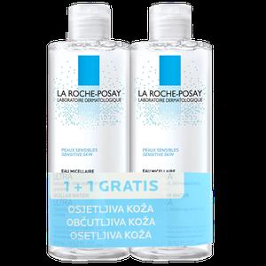 La Roche-Posay micelarna otopina osjetljiva koža 400 ml 1+1 gratis