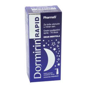 Dormirin rapid sprej za usta 10 ml