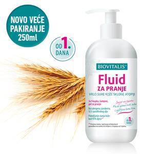 Biovitalis fluid za pranje vrlo suhe atopične kože 250 ml