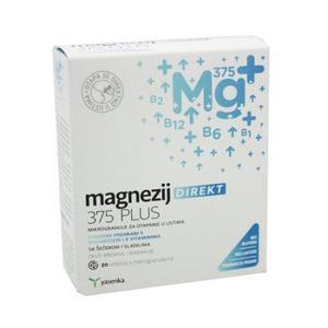 Yasenka magnezij direkt 375 mg 20 vrećica
