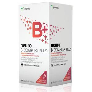 Yasenka neuro B-complex plus 60 kapsula