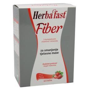Herbafast fiber jagoda vrećice 10 kom