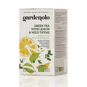 Gardenolo zeleni čaj,limun i majčina dušica 20 filter vrećica