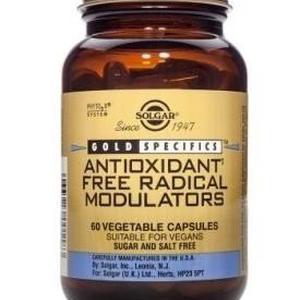 Solgar antioxidant free radical modulators 60 kapsula