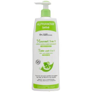 ALPHANOVA pjenušava kupka -šampon 3 u 1 500 ml