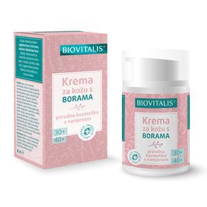 Biovitalis krema za kožu s borama 30+/40+    40 ml