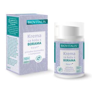Biovitalis krema za kožu s borama 50+/60+   40 ml