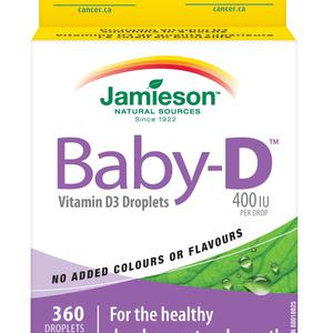 Jamieson baby vitamin D3 kapi 11,7 ml