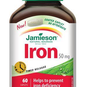 Jamieson željezo 50 mg  60 tableta