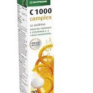 Dietpharm C 1000 complex šumeće tablete 20 kom